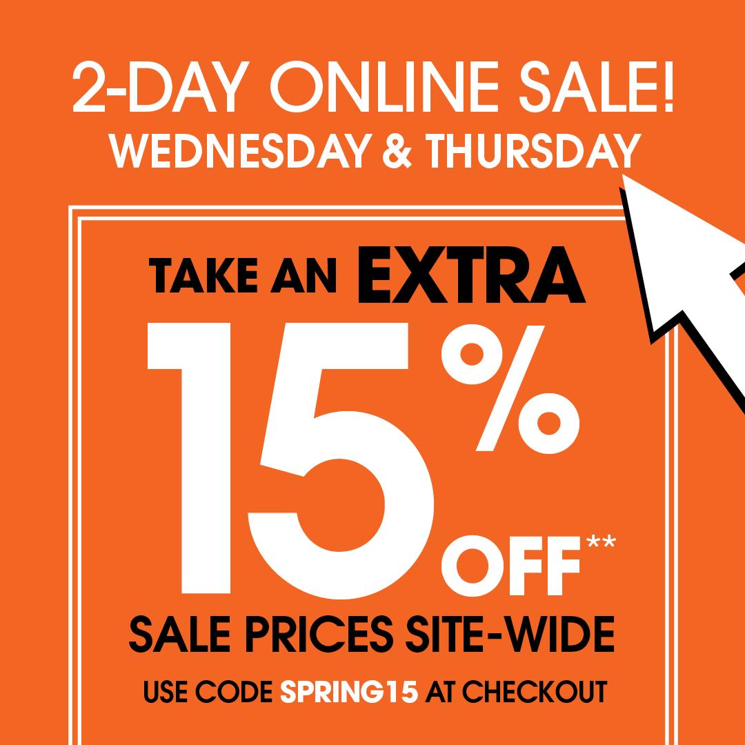 2 Day Online Sale