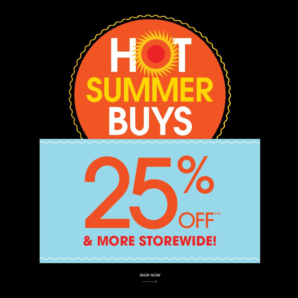 Hot Summer Buys