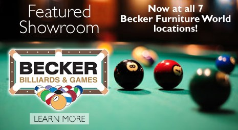 Featured Showroom: Becker Billiard and Games