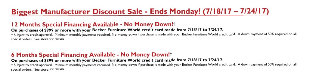 Biggest Discount Sale (Ends Monday)