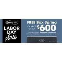 Beautyrest Labor Day Promo