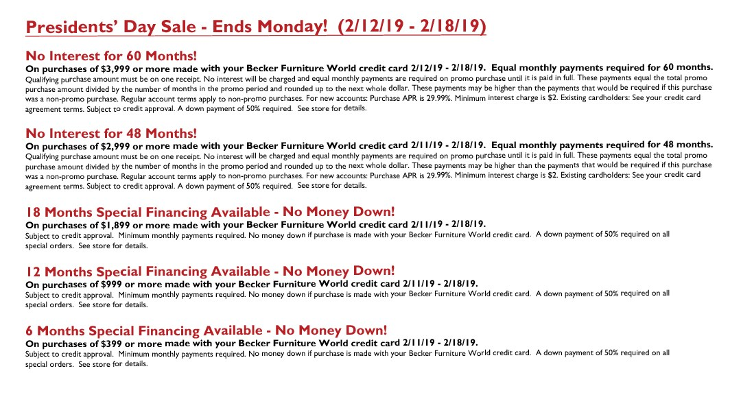 Presidents' Day Sale (Ends Monday) 2019