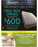 Beautyrest Spa Offer