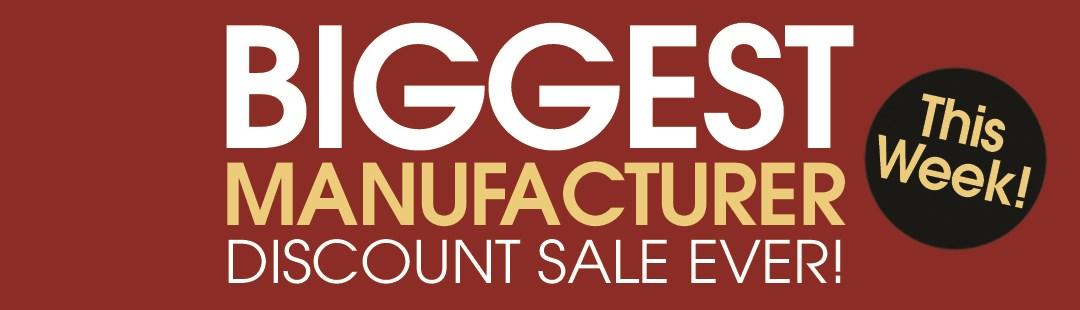 Biggest Manufacturer Discount Sale (July 2019)