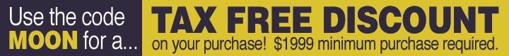 Get a Tax-Free Discount!