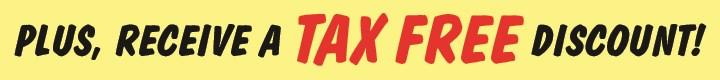 Tax Free Discount