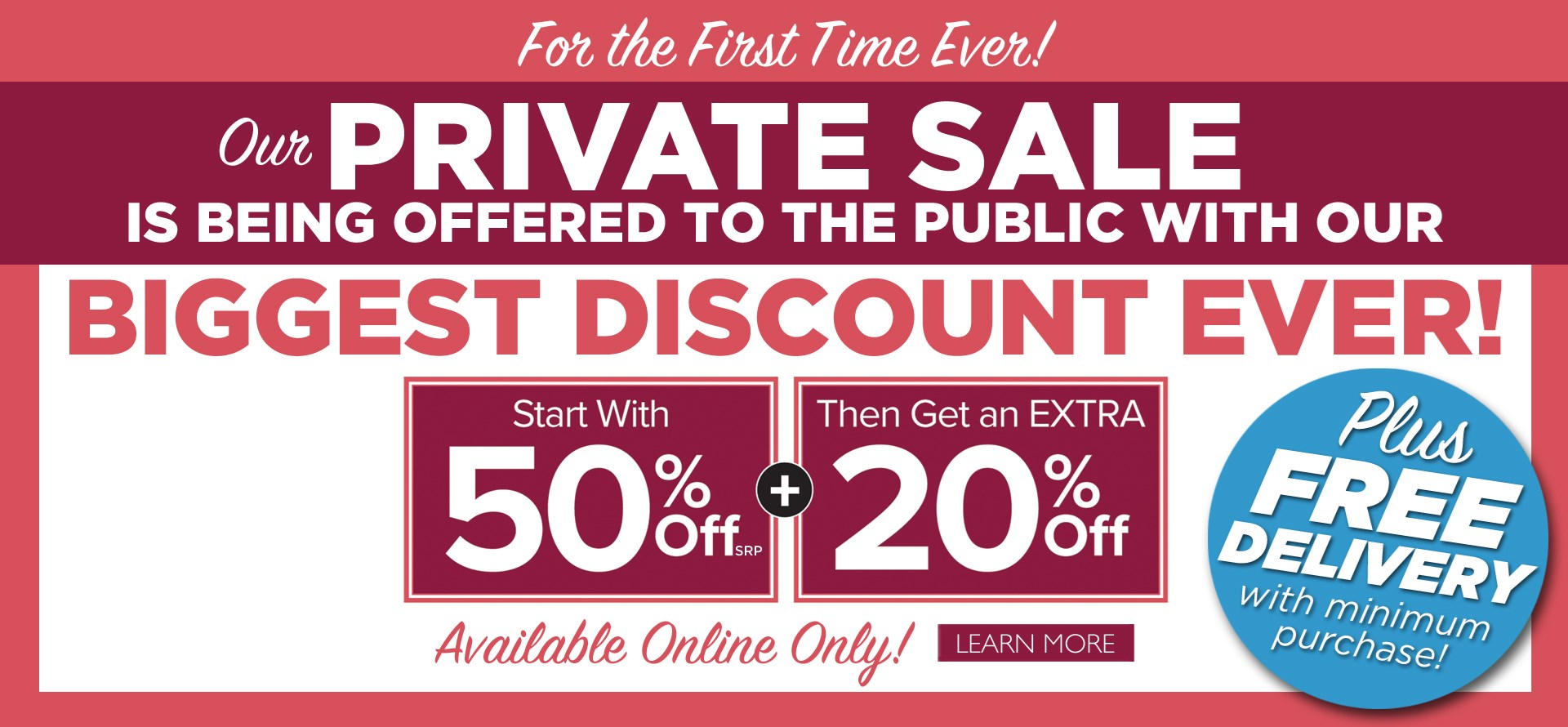Private Sale (By Appointment Only)