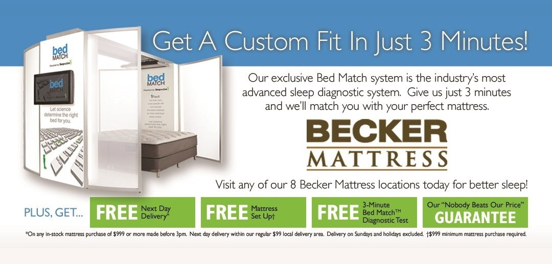 Superieur Becker Furniture World Has All Your Mattress And Bedding Needs Covered.  With A Full Selection Of Mattress Sizes, Comfort Levels, And Brand Names,  ...