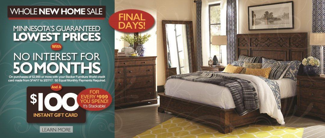 Whole New Home Sale (Final Days) 2017