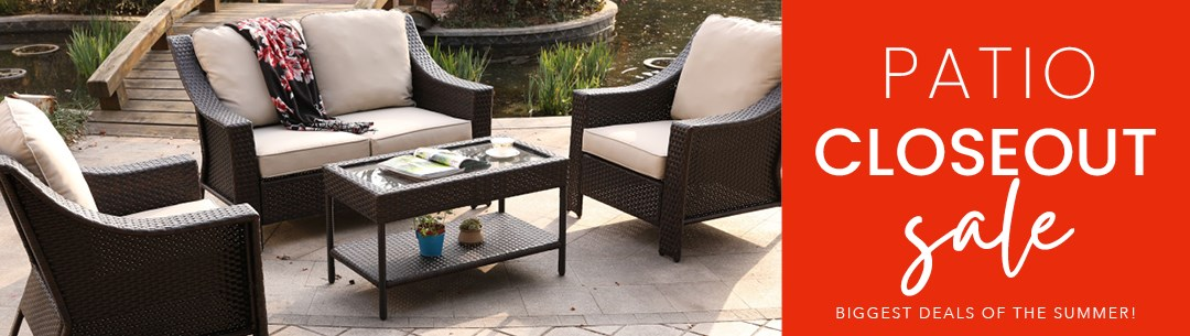 Patio Closeout Sale