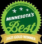 MN's best furniture store award 2021 gold winner