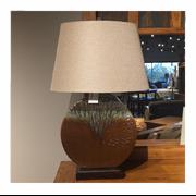 Cabin style lamp