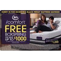 Serta IComfort Black Friday Mattress Savings