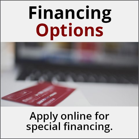 Financing Options - Apply online for special financing.