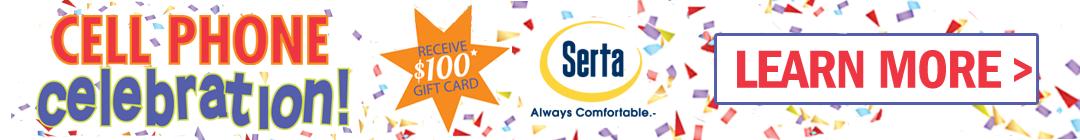 Serta Cell Phone Event