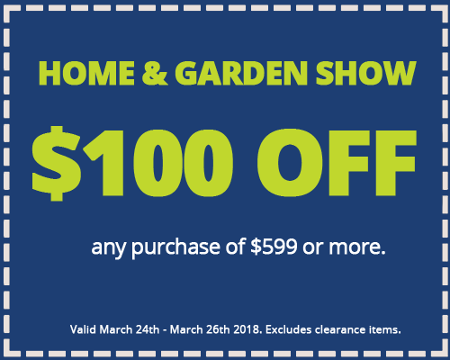 Bon Home And Garden Show. PRINT COUPON