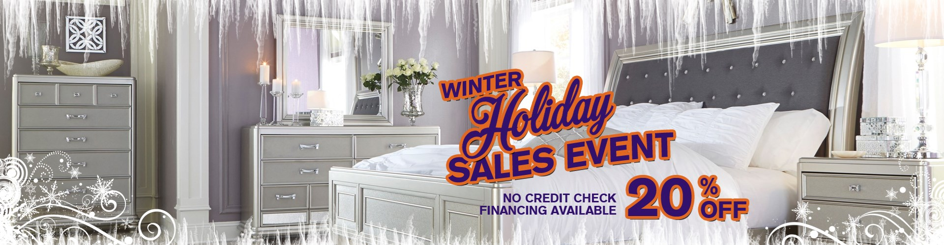 Winter Holiday Sales Event