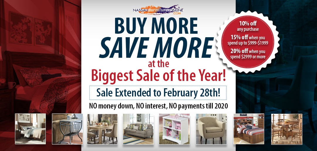 buy more save more - biggest sale of the year - now through february 28th!