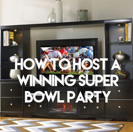 how to host a winning superbowl party