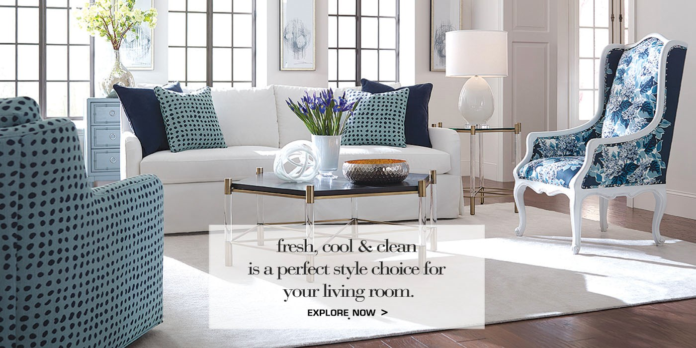 fisher collection living room scene