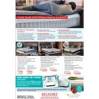 Free Sheet set offer with purchase of Serta Icomfort queen or king size mattress set