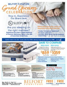 Grand Opening Celebration -  Experience our new Sleep Loft