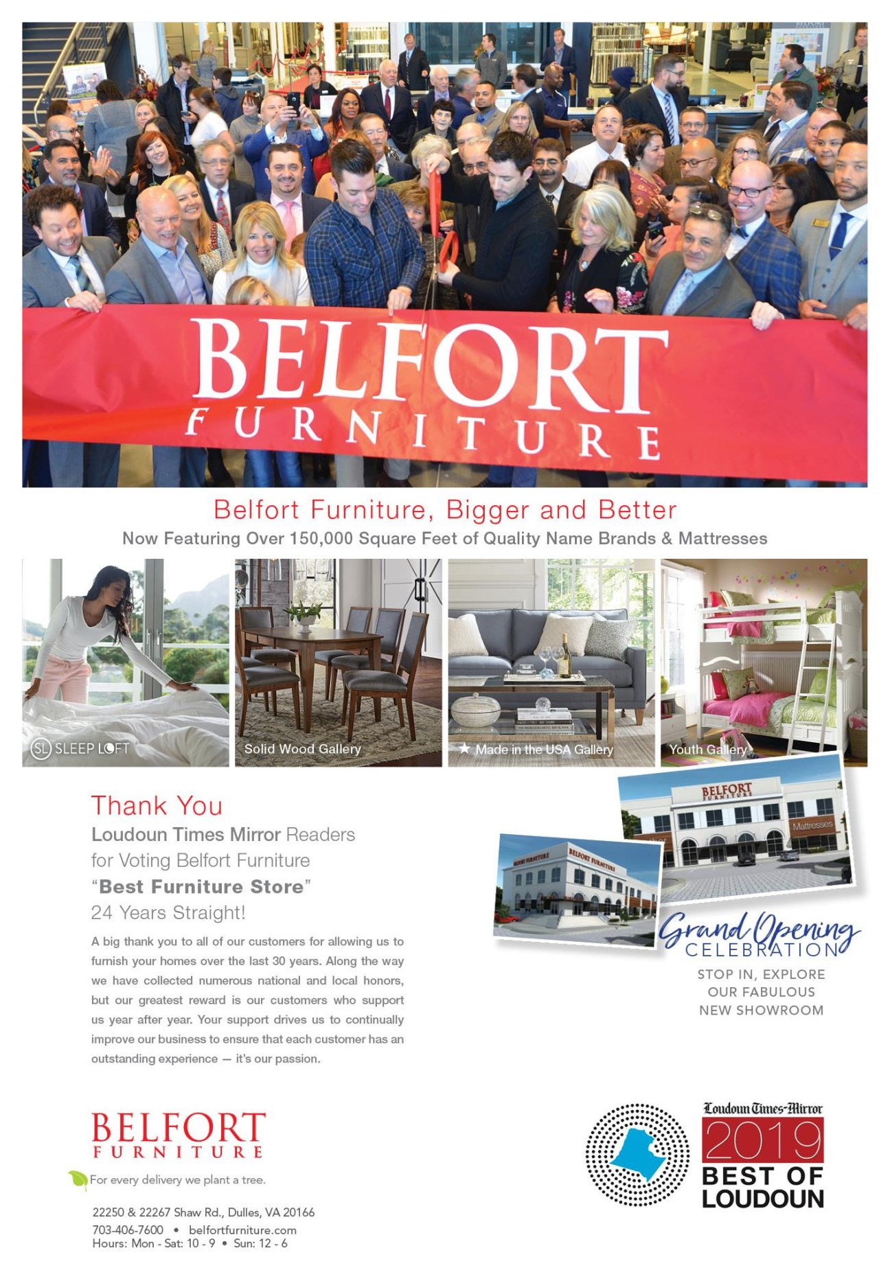 Loudoun Times Mirror readers voted Belfort,