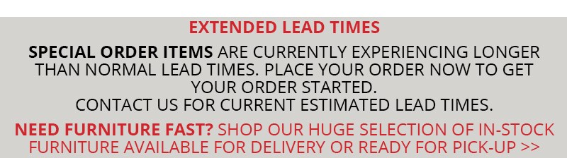 extended lead times