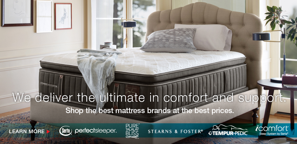 Find your perfect mattress at Belfort, shop the best brands