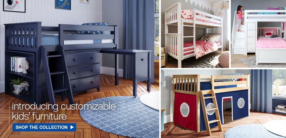 Introducing customizable kids furniture, shop now