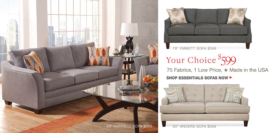 Ready for a new sofa, these sofas, your choice $599