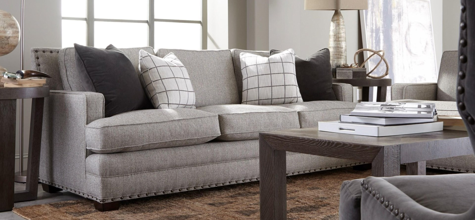Riley Transitional Sofa