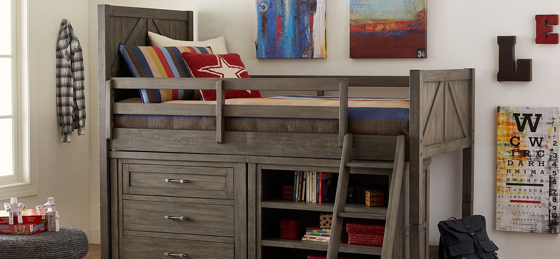Bunkhouse Kids Bedroom Collection