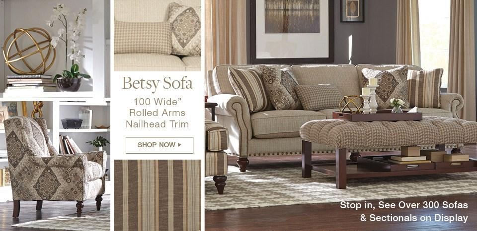 New Betsy sofa