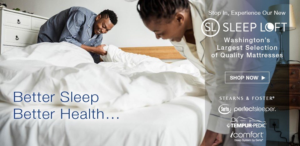 Shop the Washington area's largest selection of quality brand mattresses