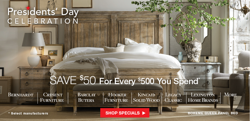 Save $50 for Every $500 You spend n select manufacturers