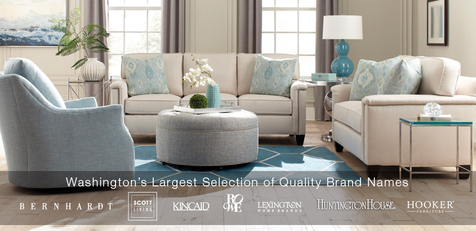 Washington's Largest selection of quality name brands