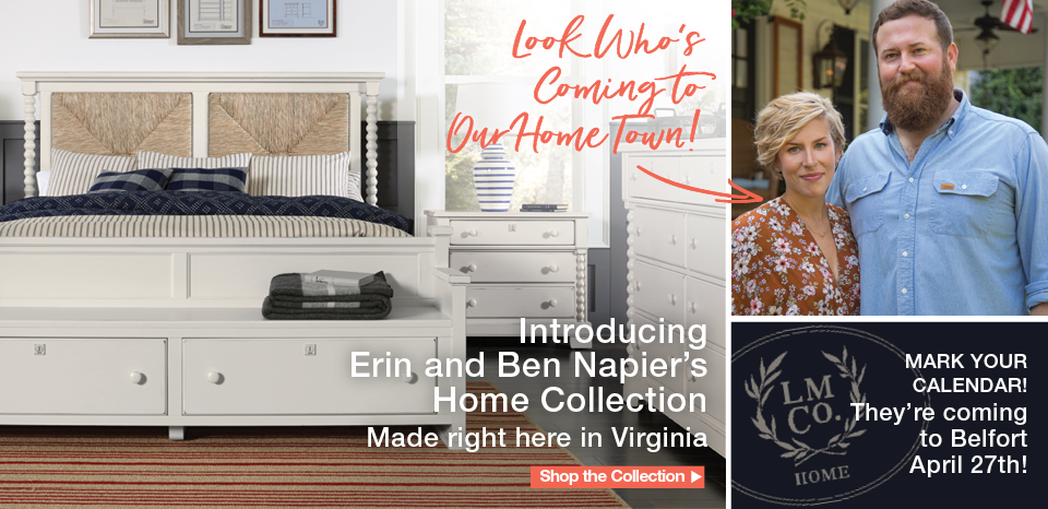 Introducing Erin and Ben Napier's new collection