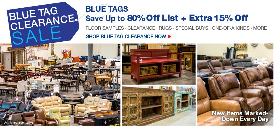 All blue tags extra 15% off