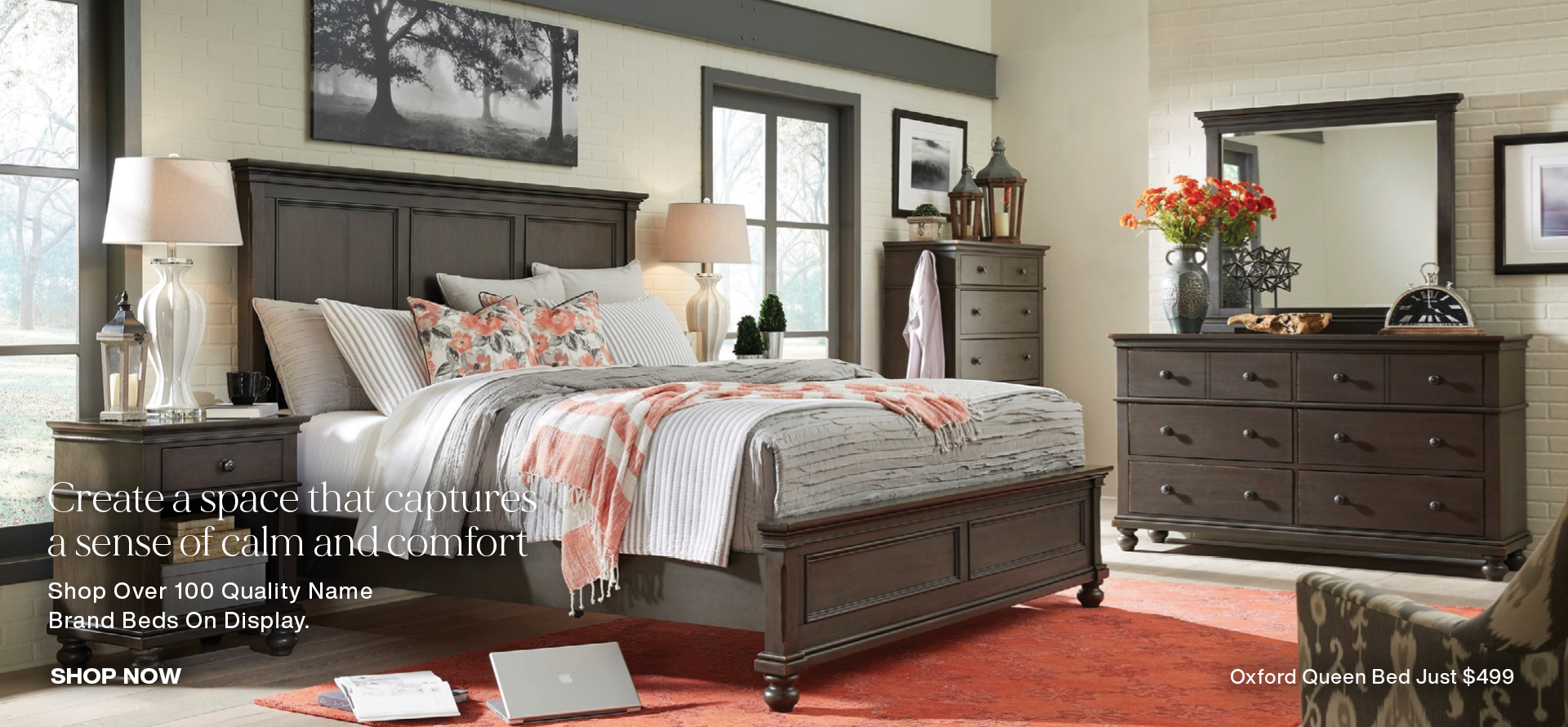 Shop the area's largest selection of beds