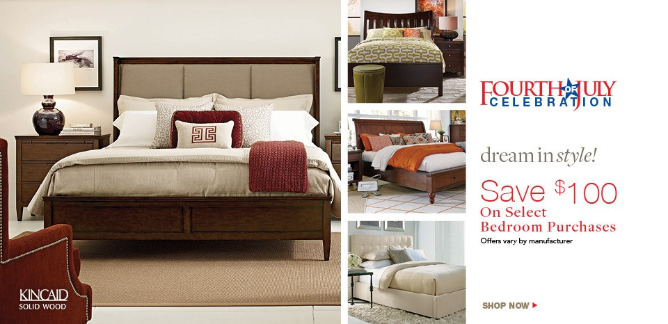 Extra $100 off select beds