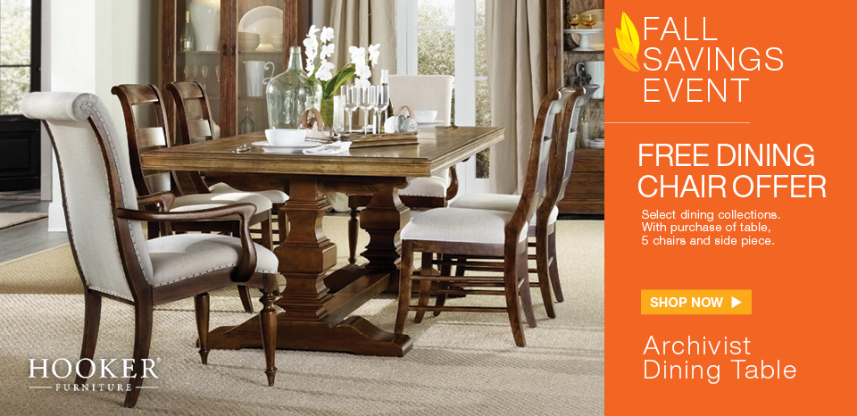 Free dining chair with select purchase, shop now