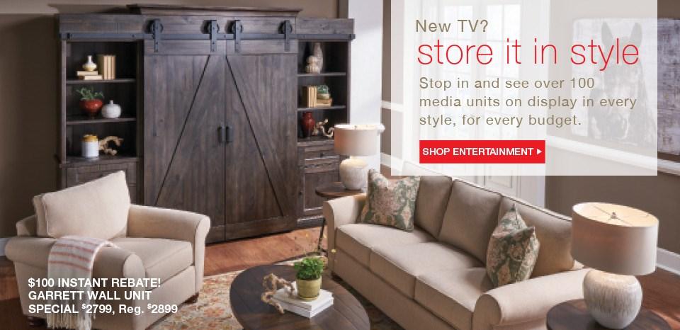 New TV? Shop Entertainment units