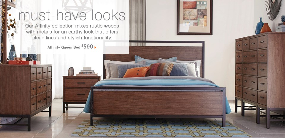 Must have looks, new Affinity bed