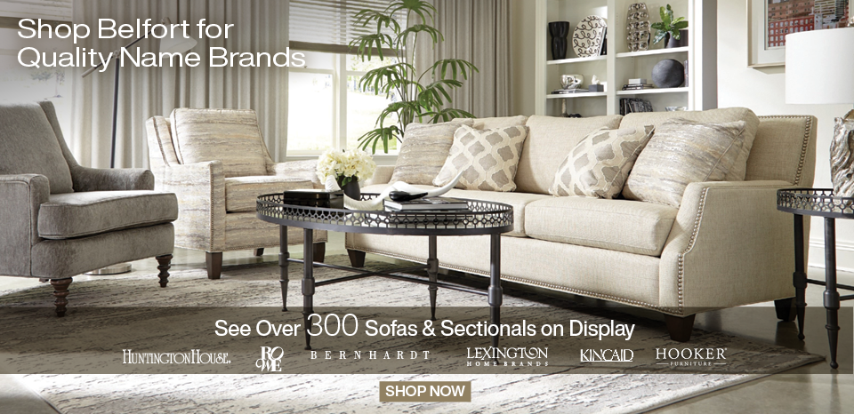 Shop over 300 sofas in-store, Washington's Largest Selection
