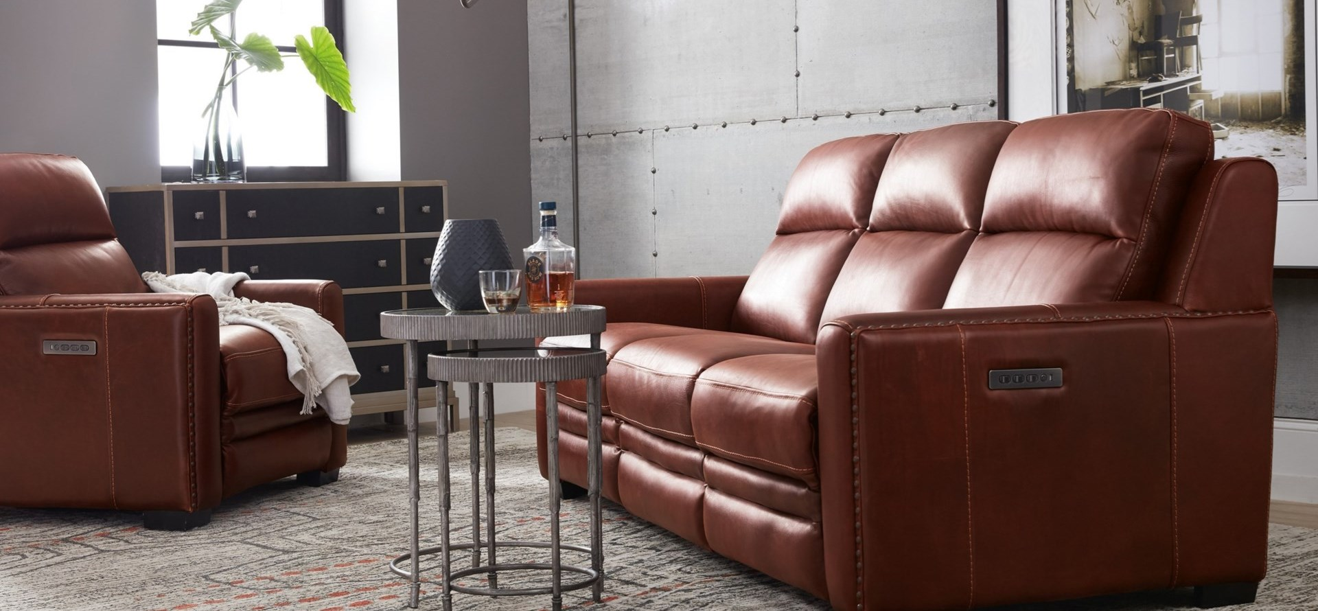 Lincoln Power Reclining Sofa