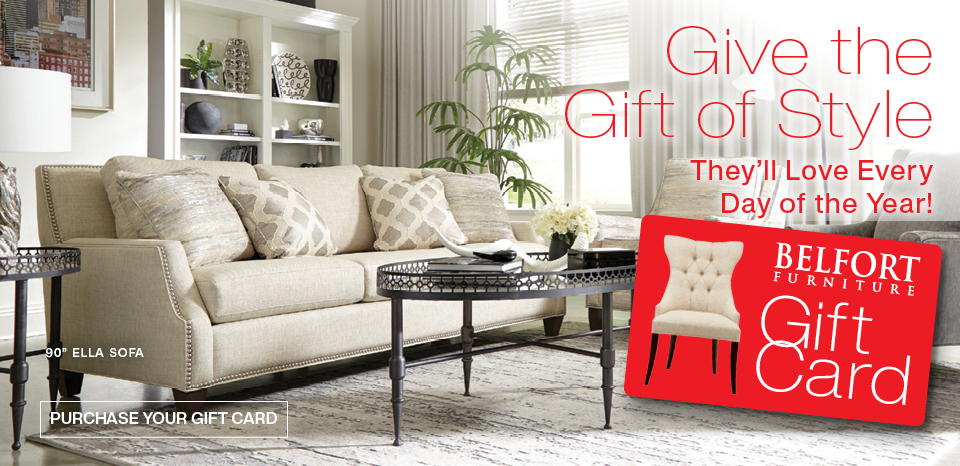 Give a gift of style, shop gift cards now