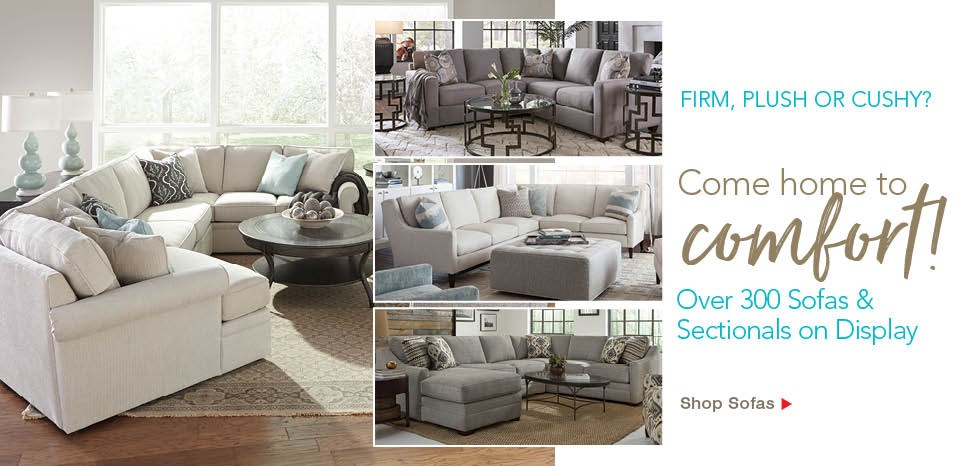 Shop over 300 sofas and sectionals at Belfort Furniture