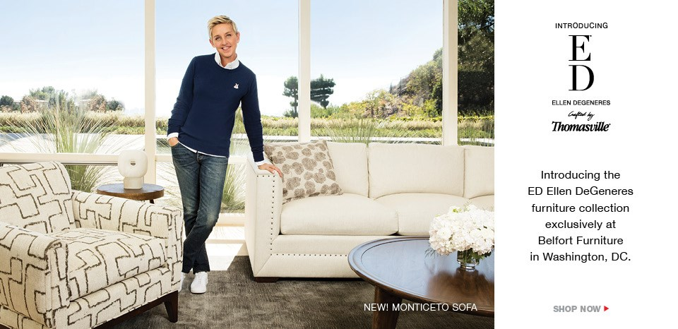 Introducing ED Ellen Degeneres home collection by Thomasville