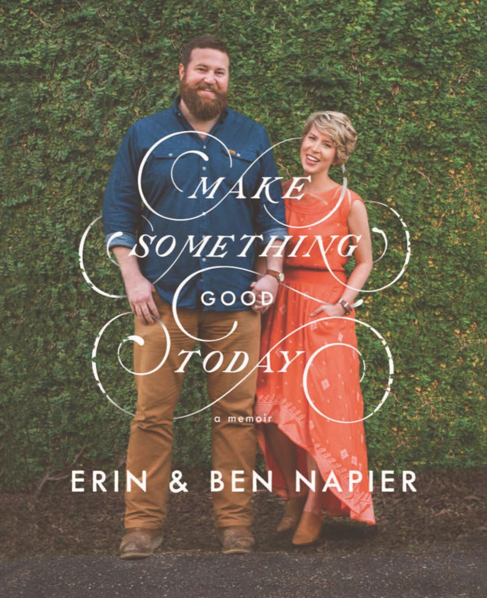 Ben and Erin's book Make Something Good Today